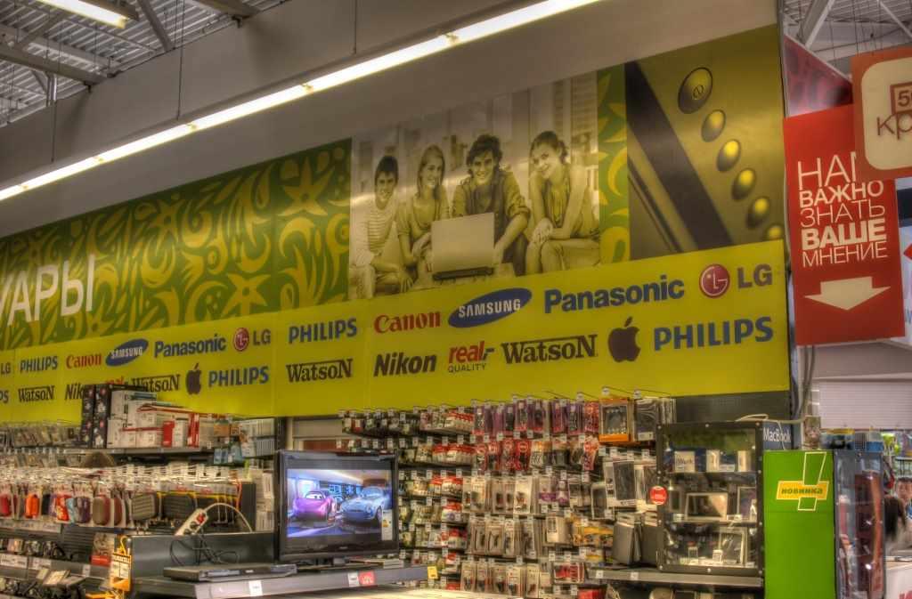 POSM для магазинов электроники